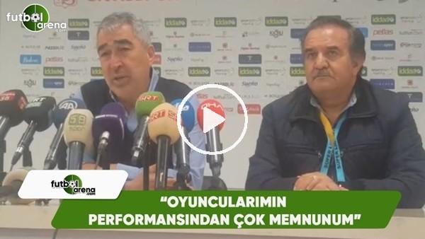"""Samet Aybaba: """"Oyuncularımın performansından çok memnunum"""""""