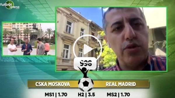 Ümit Avcı'dan FutbolArena'ya CSKA Moskova - Real Madrd maçı tahmini