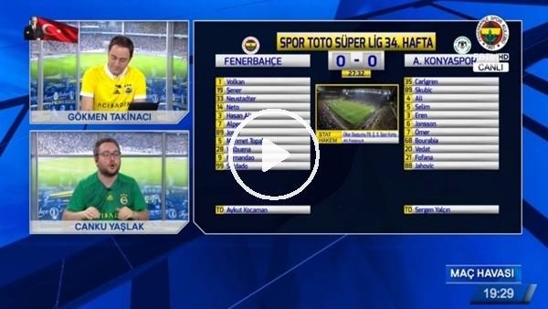 Fernandao'nun Konyaspor'a attığı golde FB TV!