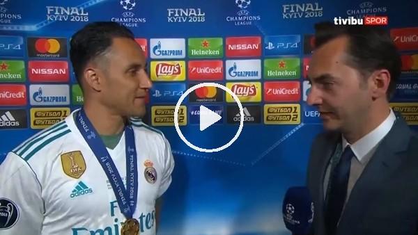 """Keylor Navas: """"""""Real Madrid bana güvendiği için kaleye koyuyor"""""""