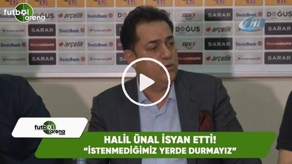 """Eskişehirspor Başkanı Halil Ünal: """"İstenmediğimiz yerde durmayız"""""""