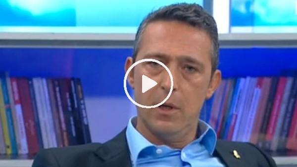 """Ali Koç: """"Fenerbahçe aldatılmayı hak etmiyor"""""""