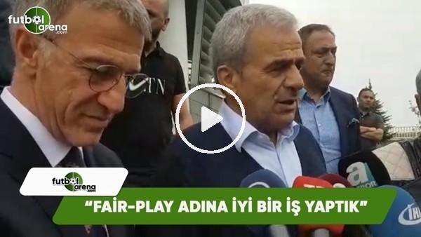 """Hasan Kemal Yardımcı: """"Fair-Play adına iyi bir iş yaptık"""""""