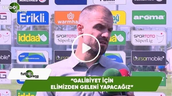 """Mustafa Er: """"Galibiyet için elimizden gelen her şeyi yapacağız"""""""