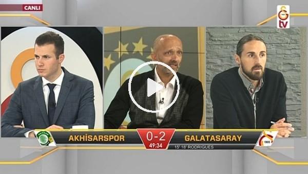 Serdar Aziz'in kendi kalesine attığı golde GS TV!