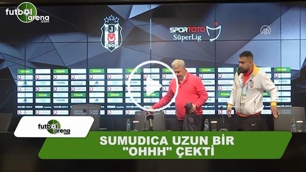 """Kayserispor Teknik Direktörü Sumudica uzun bir """"Ohhh"""" çekti"""