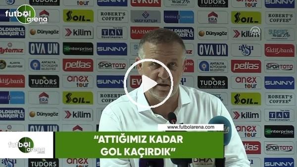 """Mesut Bakkal: """"Attığımız kadar gol kaçırdık"""""""