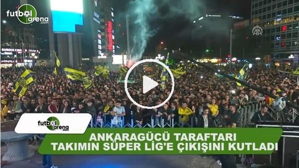 Ankaragücü taraftarının Süper Lig sevinci!