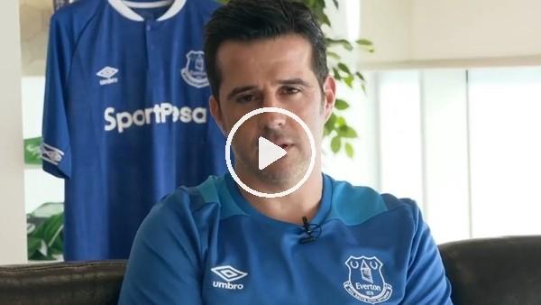 Everton'un yeni hocası Marco Silva oldu