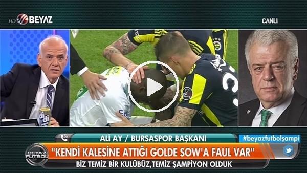 """Ahmet Çakar: """"Sow'un attığı golden rahatsızım"""""""