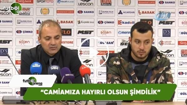 """'Erkan Sözeri: """"Camiamıza hayırlı olsun şimdilik"""""""