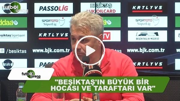 """Sumudica: """"Beşiktaş'ın büyük bir hocası ve taraftarı var"""""""