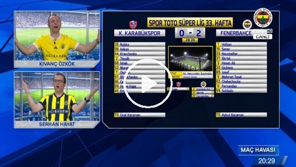 Fernandao'nun muhteşem vole golünde FB TV!