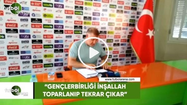 """Mesut Bakkal: """"Gençlerbirliği inşallah toparlanıp tekrar çıkar"""""""