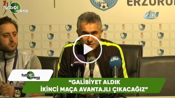 """'Mehmet Altıparmak: """"Galibiyet aldık ikinci maça avantajlı çıkacağız"""""""