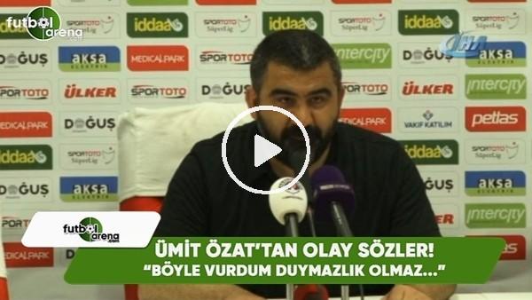 """Ümiit Özat'tan Ahmet Oğuz'a olay sözler! """"Böyle vurdum duymazlık olmaz..."""""""