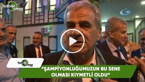 """'Hasan Kemal Yardımcı: """"Şampiyonluğumuzun bu sene olması kıymetli oldu"""""""