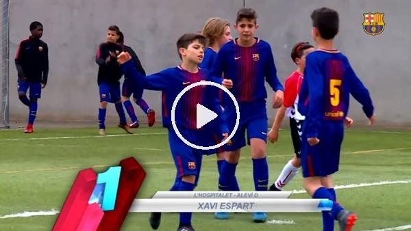 Barcelonalı gençlerden enfes goller