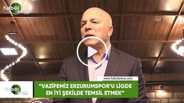 """Mehmet Sekmen: """"Vazifemiz Erzurumspor'u ligde en iyi şekilde temsil etmek"""""""