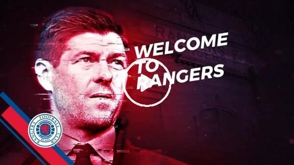 'Glasgow Rangers'tan Steven Gerrard'a özel video