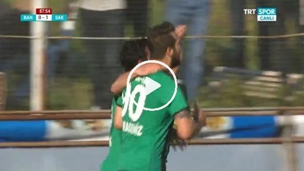 Sakaryaspor, Batuhan Karadeniz'in golleriyle yarı finalde!