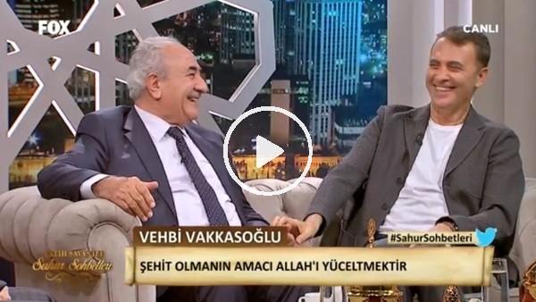 Fikret Orman'dan sahur programında Beşiktaş esprisi