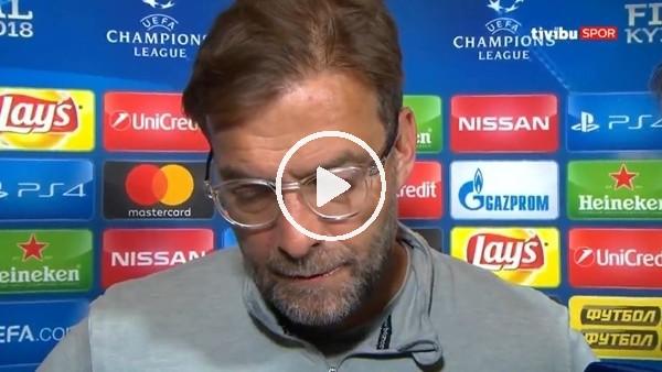 Jürgen Klopp'un Real Madrid maçı sonrası açıklamaları.