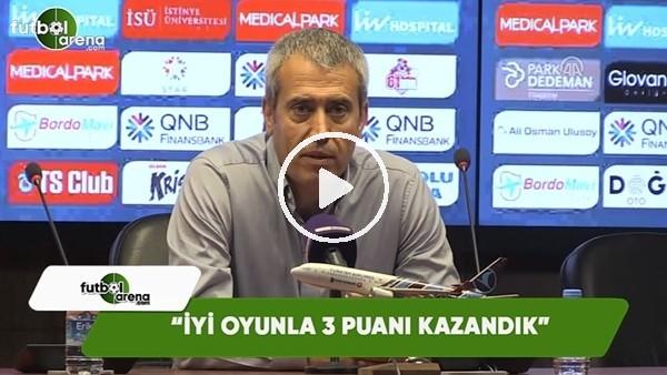 """Kemal Özdeş: """"İyi oyunla 3 puanı kazandık"""""""
