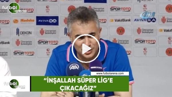 """'Mehmet Altıparmak: """"İnşallah Süper Lig'e çıkacağız"""""""