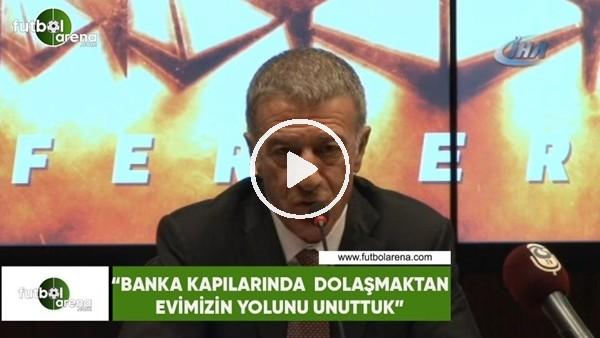 """Ahmet Ağaoğlu: """"Banka kapılarında dolaşmaktan evimizin yolunu unuttuk"""""""