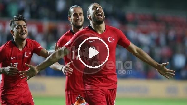 Cenk Tosun'un İran'a attığı gol
