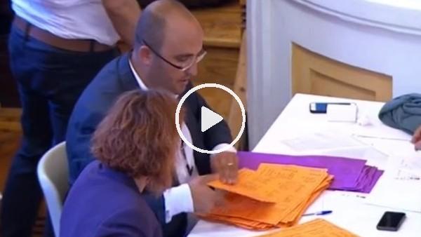 Galatasaray'da oy sayımı yapılıyor