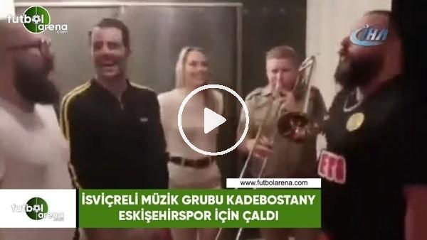Dünyaca ünlü grup Eskişehirspor için çaldı
