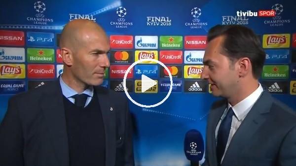 Zinadine Zidane, Türk futbolseverlere mesaj gönderdi