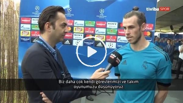 """Gareth Bale: """"Bu finalin sonucunu Real Madrid'in neler yapacağı belirler"""""""