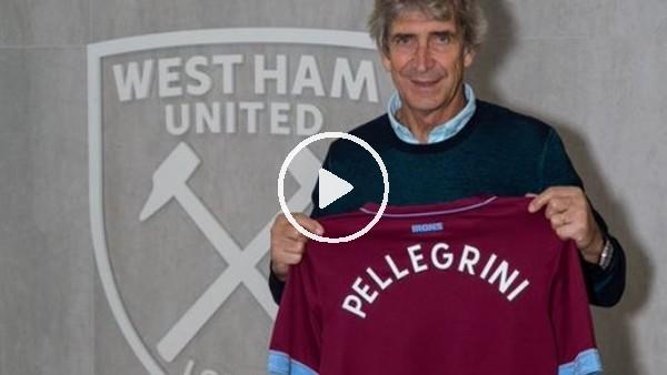 'West Ham United, Manuel Pellegrini'ye emanet!