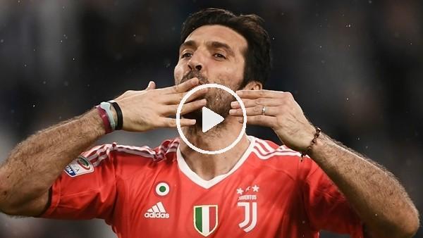 Juventus'tan Buffon'a veda klibi