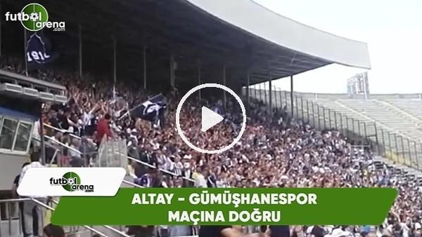 'Altay - Gümüşhanespor maçında tribünlerde muhteşem görüntüler