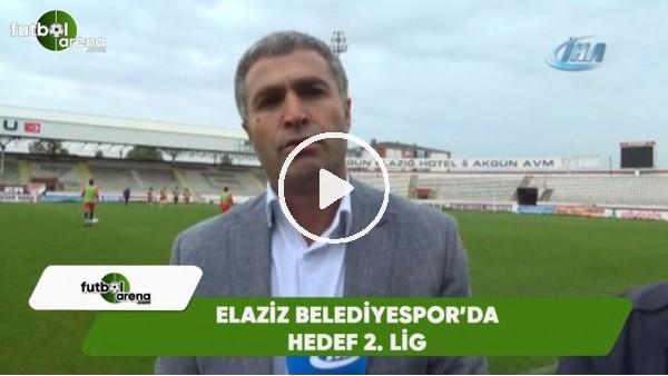 Elaziz Belediyespor'da hedef 2. lig