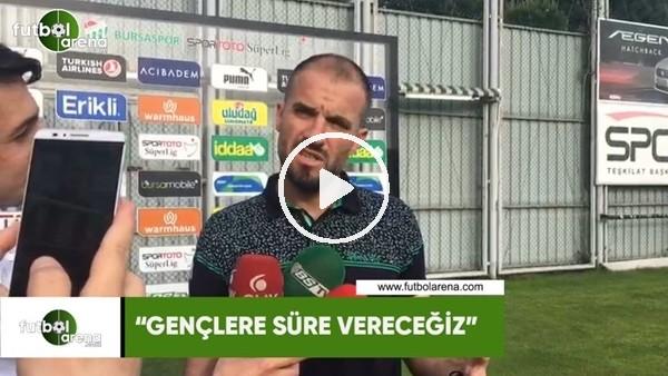 """Mustafa Er: """"Gençlere süre vereceğiz"""""""