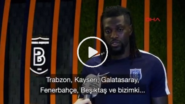 Adebayor'dan Türkiye'nin EURO 2024 adaylığına destek