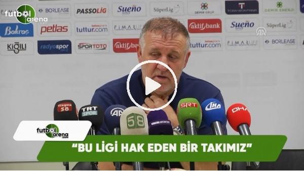 """Mesut Bakkal: """"Bu ligi hak eden bir takımız"""""""