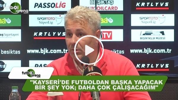 """Sumudica: """"Kayseri'de futboldan başka yapacak bir şey yok"""""""