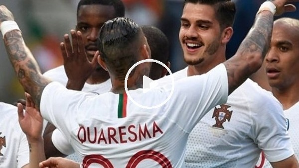Quaresma golü kaçırdı, asistini yaptı!