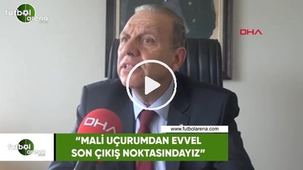 """Bursaspor başkan adayı Lemi Keskin: """"Mali uçurumdan evvel son çıkış noktasındayız"""""""