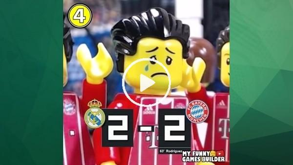 Real Madrid - Bayern Münih maçını bir de böyle izleyin!