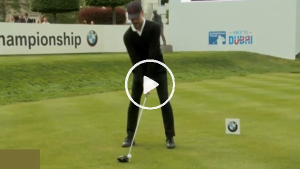 'Pep Guardiola'nın golf keyfi
