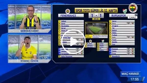 Fernandao'nun golünde FB TV spikerleri çıldırdı!