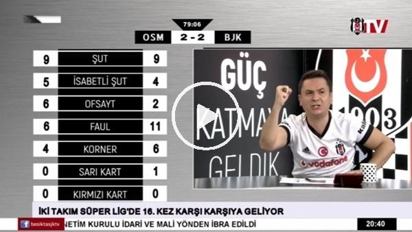 Vagner Love'un Osmanlıspor'a attığı golde BJK TV!