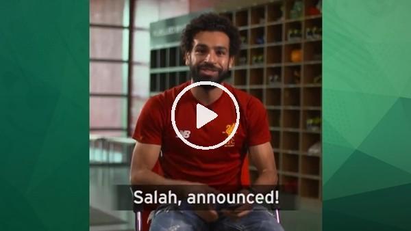 Liverpool 1 yıl önce Mohammed Salah'ı böyle duyurmuştu!